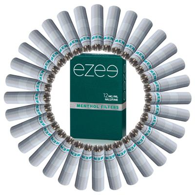 Ezee Filter (refill) Mentol 12mg - Medium - Låda med 36