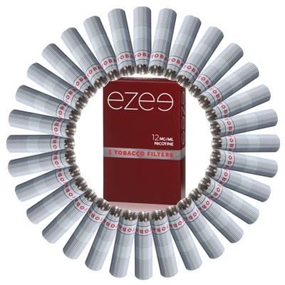 Ezee Filter (refill) Tobak 12mg - Medium - Låda med 36