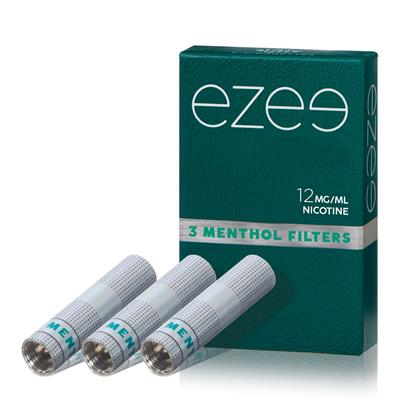 Ezee Filter (refill) Mentol 12mg - Medium - Paket med 3