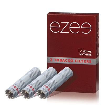Ezee Filter (refill) Tobak 12mg - Medium - Paket med 3